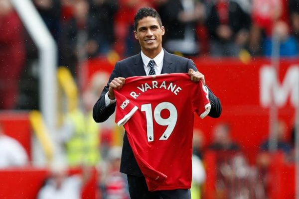 Maguire believes Varane's arrival will motivate everyone in the squad.